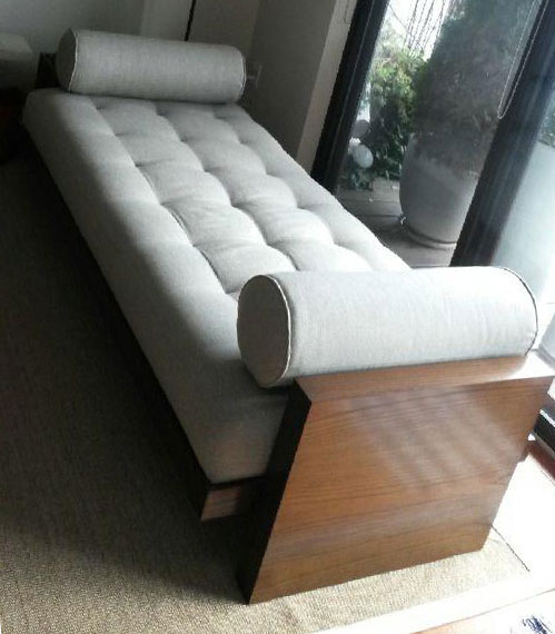 topstitch daybed re-upholstery