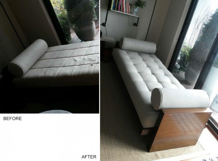 Daybed upholstery – completed!